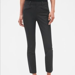 GAP Charcoal Gray Skinny Ankle Pants